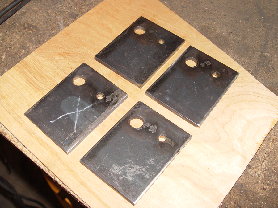 Photo of swing arm drop out plates