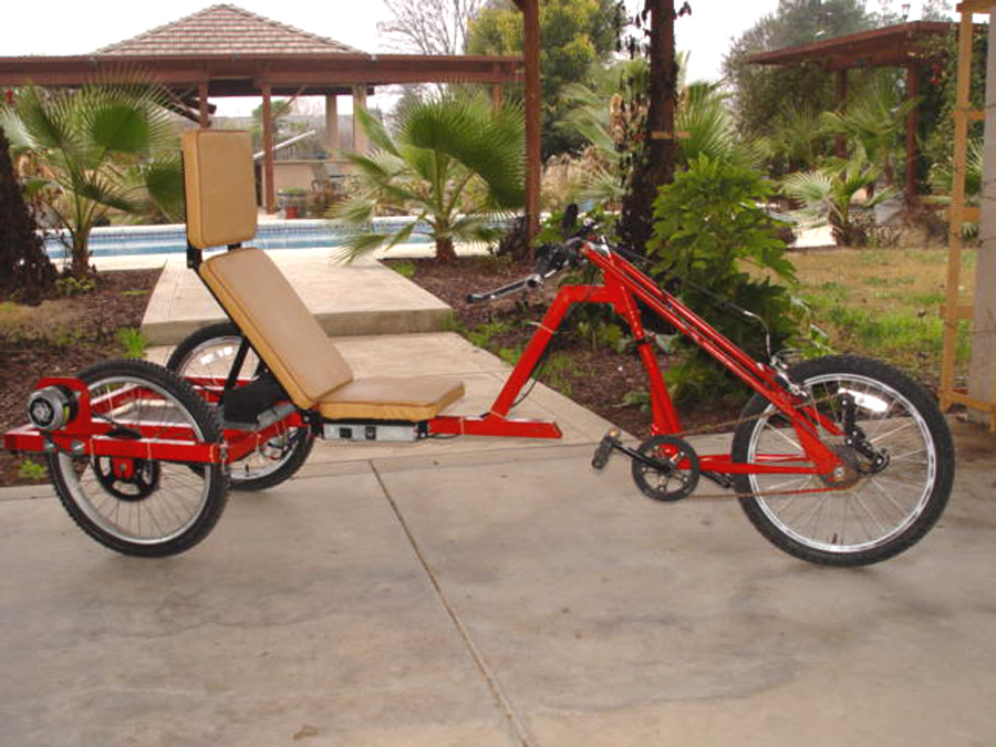 Photo of 500 watt electric recumbent trike