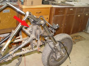 Photo of Voyager welded front fork