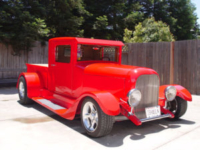 Photo of hand fabricated 1932 Ford pickup truck