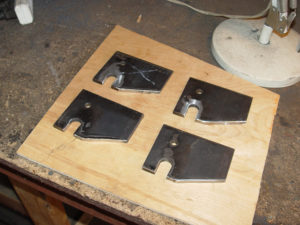 Photo of finished drop out plates