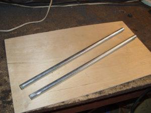 "Photo of 1/2"" steel rod"