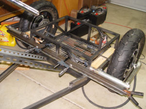 Photo of swing arm mounts