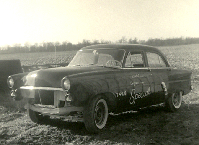 photo of 1952 Ford with 331 Chrysler hemi engine