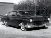 photo of 1957 ford fairlain 500 mild custom