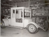 Photo of hand fabricated fiberglass truck