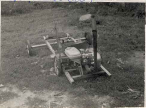 photo of simple go kart