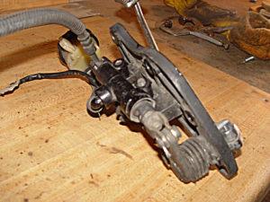 Photo of Kawasaki Voyager brake pedal assembly