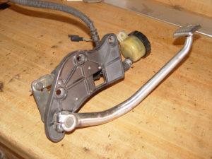Voyager brake pedal