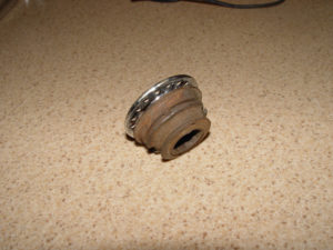Photo of freewheel hub cut away from wheel hub
