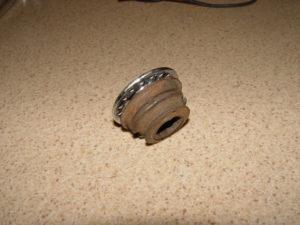 Photo of freewheel hub cut away from wheel hub