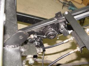 Photo of regeneration controller mounted on trike frame